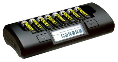 8セル急速充電器(単三・単四型充電池用)